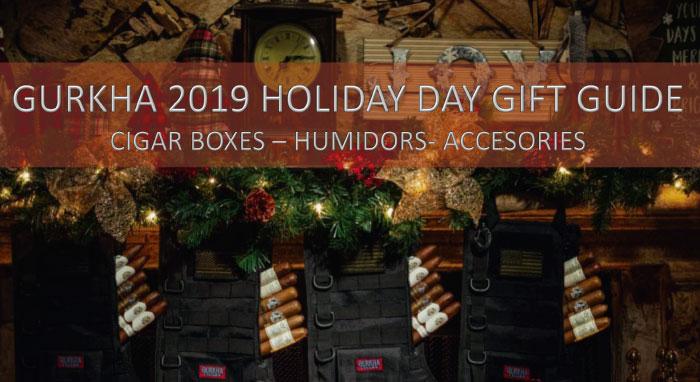 Gurkha Cigars & Accessories un regalo diferente para esta navidad!